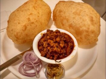 Paneer Stuffed Bhature - Plattershare - Recipes, Food Stories And Food Enthusiasts