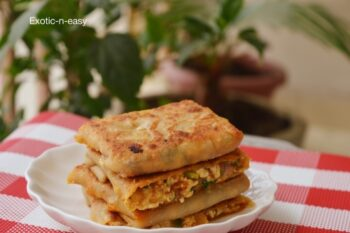 Schezwan Paneer Pockets - Plattershare - Recipes, Food Stories And Food Enthusiasts