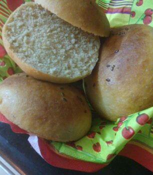 100% Whole Wheat Flour Burger Buns - Plattershare - Recipes, Food Stories And Food Enthusiasts