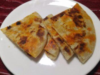 Zafrani Parantha - Plattershare - Recipes, Food Stories And Food Enthusiasts