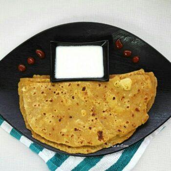 Avocado Paneer Paratha - Plattershare - Recipes, Food Stories And Food Enthusiasts