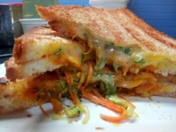 Bread Cheese Sandwich - Plattershare - Recipes, Food Stories And Food Enthusiasts