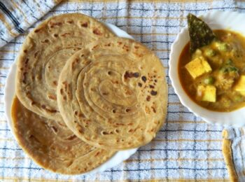 Whole Wheat Parotta - Plattershare - Recipes, Food Stories And Food Enthusiasts