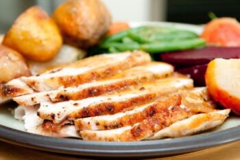 Chipotle Turkey With Roasted Fingerling Potatoes - Plattershare - Recipes, Food Stories And Food Enthusiasts