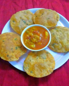 Bedmi Puri - Plattershare - Recipes, Food Stories And Food Enthusiasts