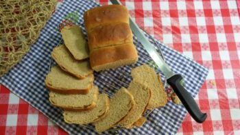 Whole Wheat Flour Bread (Tangzhong Method) - Plattershare - Recipes, Food Stories And Food Enthusiasts