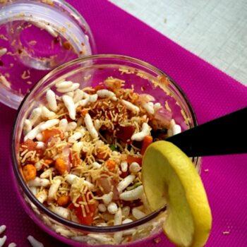 Instant Jar Bhel | Quick &Amp; Easy Bhel | Mumbai Style Bhel - Plattershare - Recipes, Food Stories And Food Enthusiasts