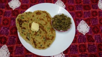 Whole Wheat Mixed Veggie Naans - Plattershare - Recipes, Food Stories And Food Enthusiasts