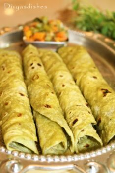 Palak | Spinach - Paratha - Plattershare - Recipes, Food Stories And Food Enthusiasts