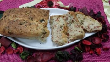 Pepperoni, Olive And Cheese Bread - Plattershare - Recipes, Food Stories And Food Enthusiasts