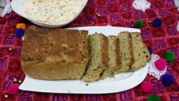 Whole Wheat Veggie Bread - Plattershare - Recipes, Food Stories And Food Enthusiasts