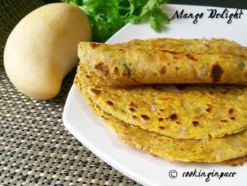 Mango Roti - Plattershare - Recipes, Food Stories And Food Enthusiasts