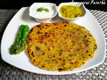 Asparagus Parotha - Plattershare - Recipes, Food Stories And Food Enthusiasts