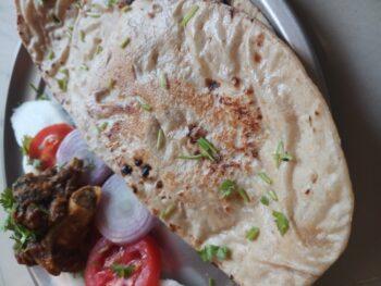 Dahi Wali Roti - Plattershare - Recipes, Food Stories And Food Enthusiasts