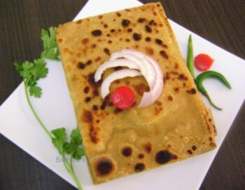 Mughlai Paratha - Plattershare - Recipes, Food Stories And Food Enthusiasts