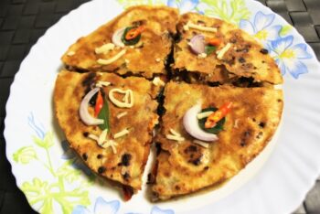 Mexican Chicken Tikka Quesadilla - Plattershare - Recipes, Food Stories And Food Enthusiasts
