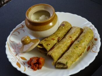 Eggplant Paratha - Plattershare - Recipes, Food Stories And Food Enthusiasts