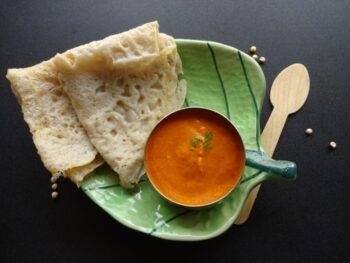 Jowar (Great Millet) Crepe Or Ghavan - Plattershare - Recipes, Food Stories And Food Enthusiasts