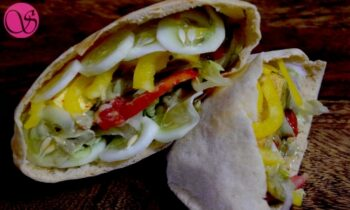 Homemade Pita Bread With Whole Wheat - Plattershare - Recipes, Food Stories And Food Enthusiasts