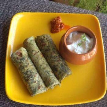 Moringa Leaves Paratha/Thepla - Plattershare - Recipes, Food Stories And Food Enthusiasts