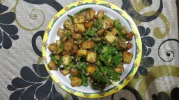 Chilli Panneer - Plattershare - Recipes, Food Stories And Food Enthusiasts