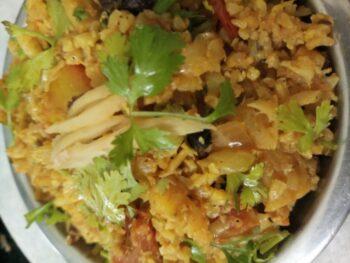 Adraki Gobhi Keema - Plattershare - Recipes, Food Stories And Food Enthusiasts