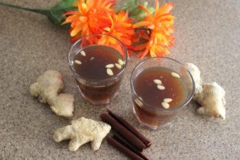 Sujeonggwa (Korean Cinnamon And Ginger Punch) - Plattershare - Recipes, Food Stories And Food Enthusiasts