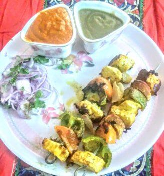 Paneer Tikka - Plattershare - Recipes, Food Stories And Food Enthusiasts