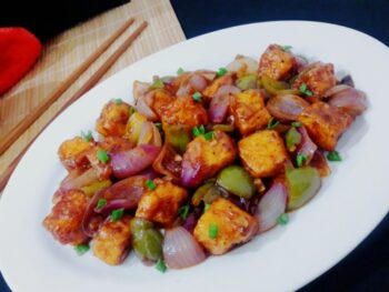 Restaurant Style Chilli Paneer - Plattershare - Recipes, Food Stories And Food Enthusiasts