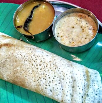 South Indian Masala Dosa - Plattershare - Recipes, Food Stories And Food Enthusiasts