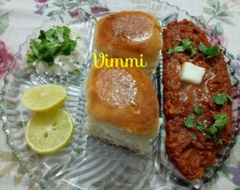 Restaurant Style Pav Bhaji - Plattershare - Recipes, Food Stories And Food Enthusiasts