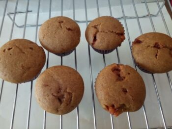 Whole Wheat Butterscotch Cupcakes - Plattershare - Recipes, Food Stories And Food Enthusiasts