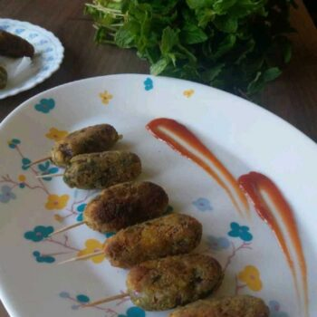 Sprouts Kabab - Plattershare - Recipes, Food Stories And Food Enthusiasts