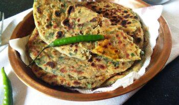 Bathua Ke Parathe - Plattershare - Recipes, Food Stories And Food Enthusiasts