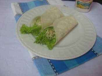Chicken Mayo Wrap - Plattershare - Recipes, Food Stories And Food Enthusiasts