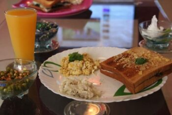 Super Speedy Breakfast - Go Vegan With Egg !!! - Plattershare - Recipes, Food Stories And Food Enthusiasts