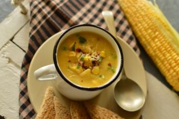 Chilli Corn Chowder - Plattershare - Recipes, Food Stories And Food Enthusiasts
