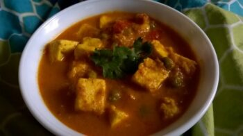 Matar Paneer Dhaba Style - Plattershare - Recipes, Food Stories And Food Enthusiasts