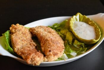 Walnut Crusted Chicken Tenders - Plattershare - Recipes, Food Stories And Food Enthusiasts