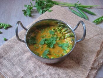 Restaurant Style Green Peas Masala - Plattershare - Recipes, Food Stories And Food Enthusiasts