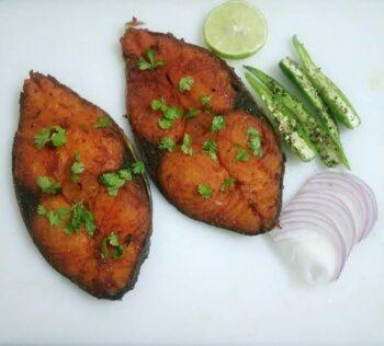 Deep Fried Vanjaram Fish - Plattershare - Recipes, Food Stories And Food Enthusiasts