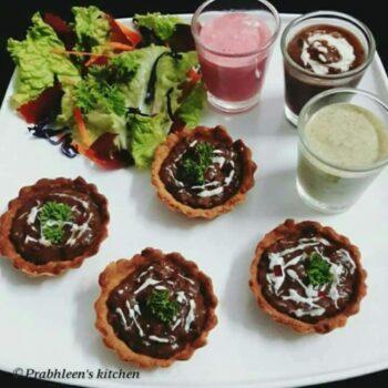 Dal Makhani Tarts - Plattershare - Recipes, Food Stories And Food Enthusiasts