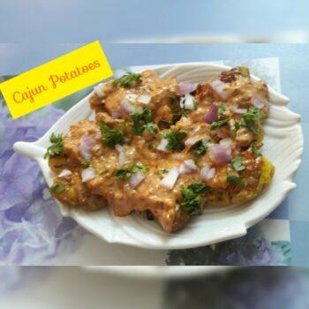 Cajun Potatoes - Plattershare - Recipes, Food Stories And Food Enthusiasts