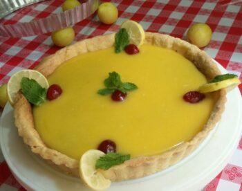Lemon Tart - Plattershare - Recipes, Food Stories And Food Enthusiasts