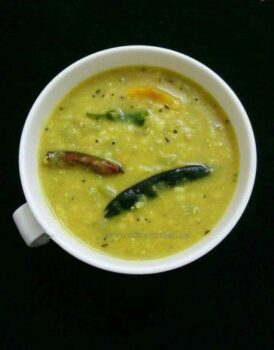 Sorakkai Paruppu ( Bottle Gourd With Dal) - Plattershare - Recipes, Food Stories And Food Enthusiasts