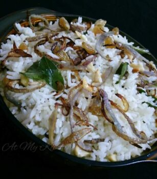Ghee Rice - Plattershare - Recipes, Food Stories And Food Enthusiasts