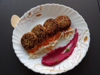 Carrot Falafel - Plattershare - Recipes, Food Stories And Food Enthusiasts