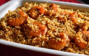 Restuarnt Style Shrimp Biryani - Plattershare - Recipes, Food Stories And Food Enthusiasts
