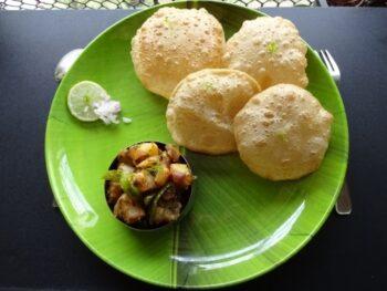 Puri Bhaji - Plattershare - Recipes, Food Stories And Food Enthusiasts