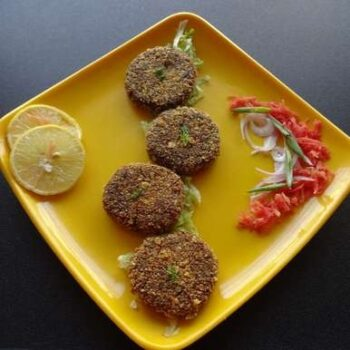 Chicken Thai Curry Oats Cutlets - Plattershare - Recipes, Food Stories And Food Enthusiasts